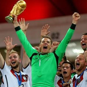 Grid thumb grid thumb manuel neuer celebration after winning world cup trophy